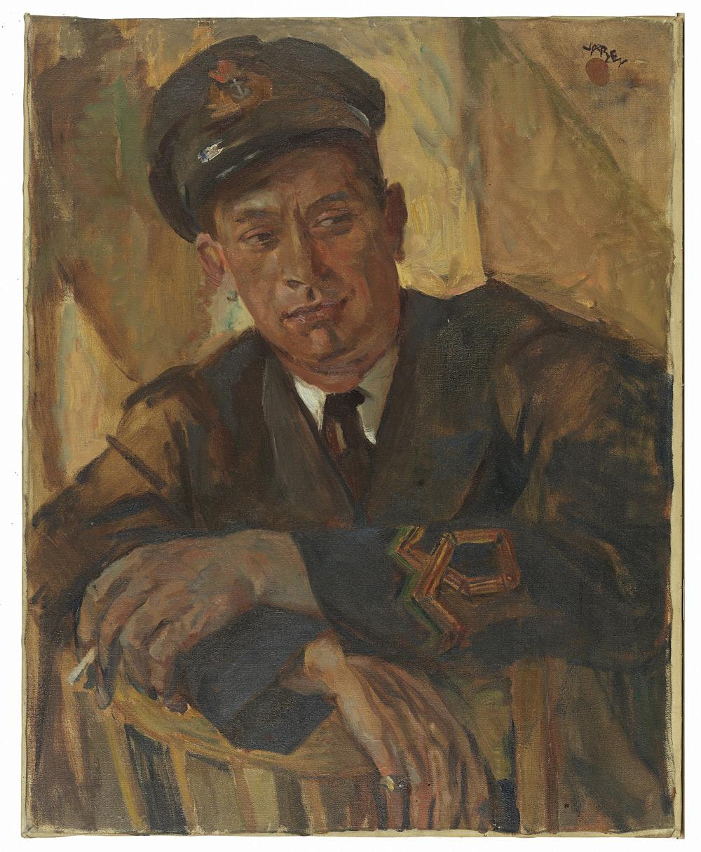 Portrait d'un officier de marine, Harry Kelman