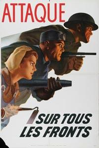 Affiches de propagande de la seconde guerre mondiale