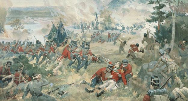 The Battle of Queenston Heights, 13 October 1812