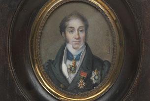 Le capitaine William Mulcaster, de la Royal Navy