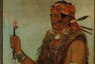 Ten-Squat-a-Way, La porte ouverte, connu comme le prophète, frère de Tecumseh