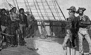 Getting into War - Discover why the Americans were at war in 1812.