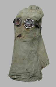Capuchon-masque à gaz