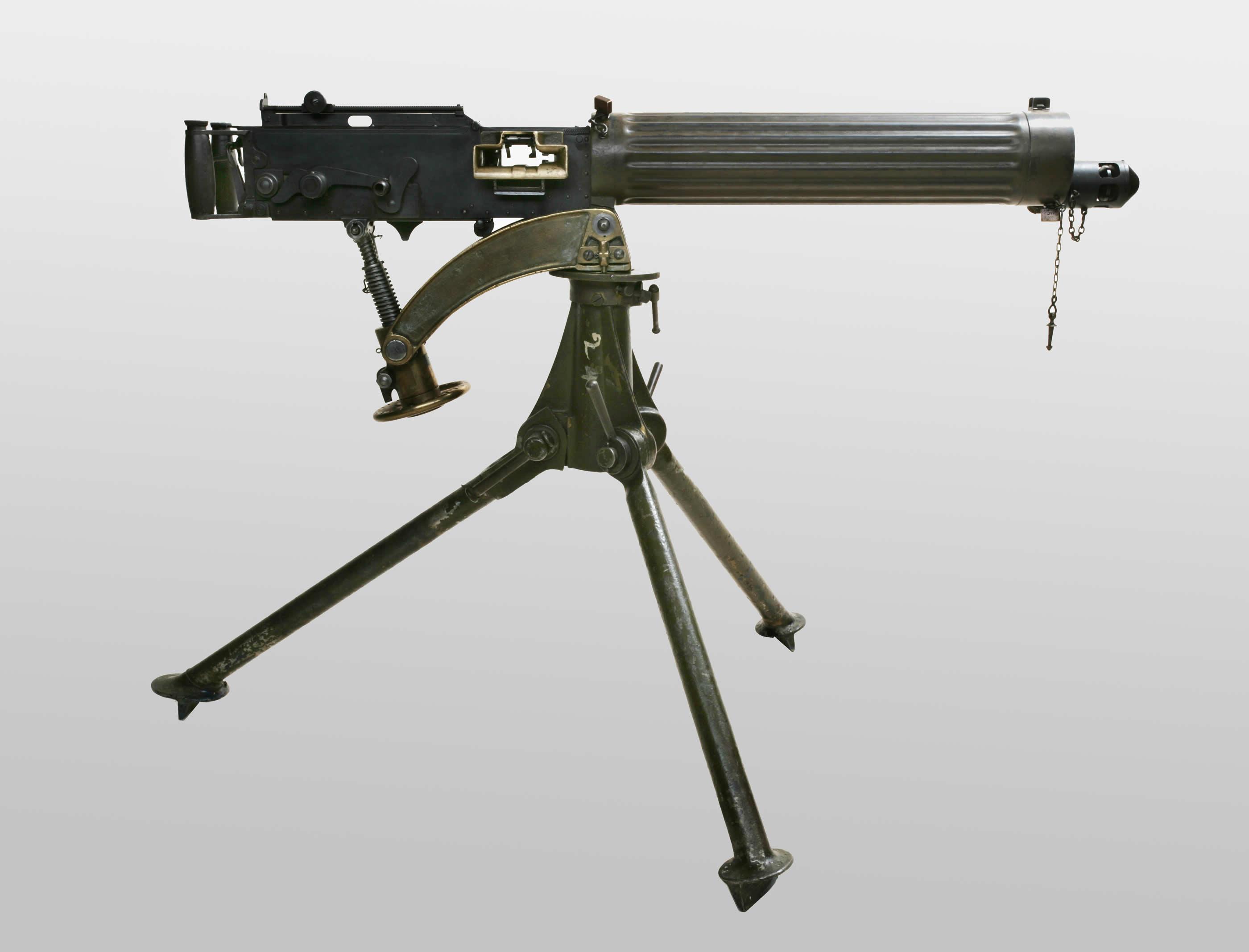 machine gun from ww1