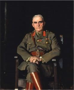Le lieutenant général sir Sam Hughes, K.C.B., député