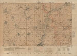 Carte de Beaumont-Hamel