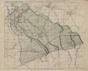 Cartes de la progression des Canadiens à Vimy