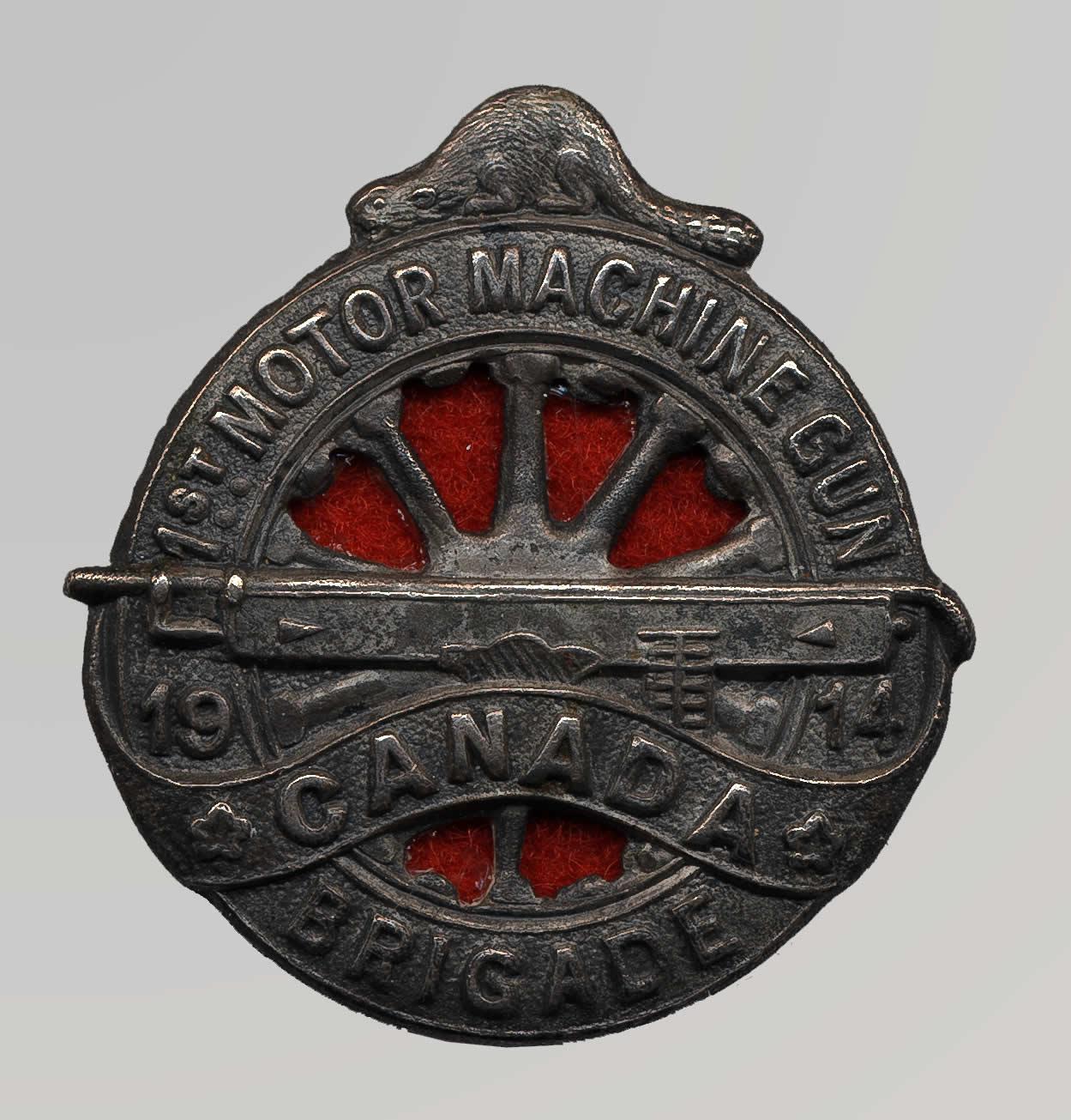 La 1st Canadian Motor Machine Gun Brigade