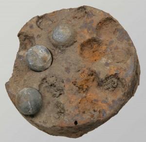 Fragment de shrapnel