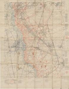 Carte de Vimy-Roclincourt