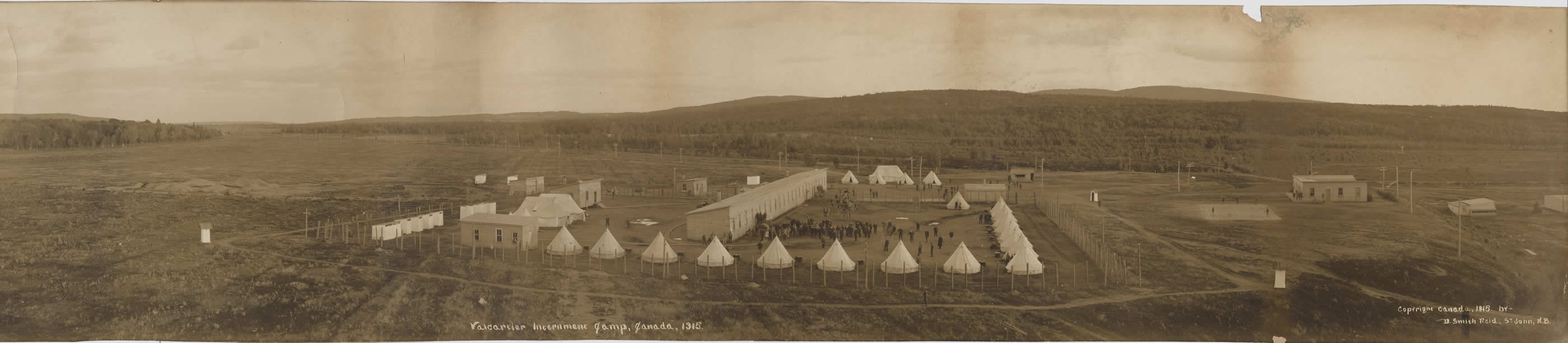 Camp d'internement de Valcartier