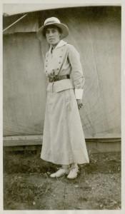 L'infirmière militaire Halpenny