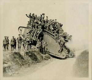 Retour à bord d'un char