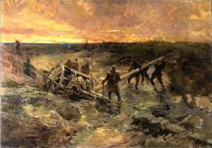 Artilleurs dans la boue, Passchendaele