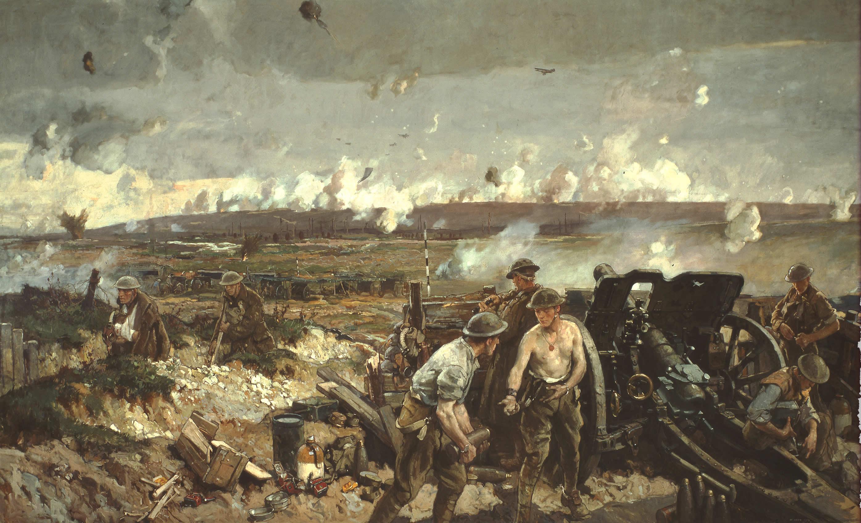 <i>La prise de la crête de Vimy, le lundi de Pâques 1917</i>