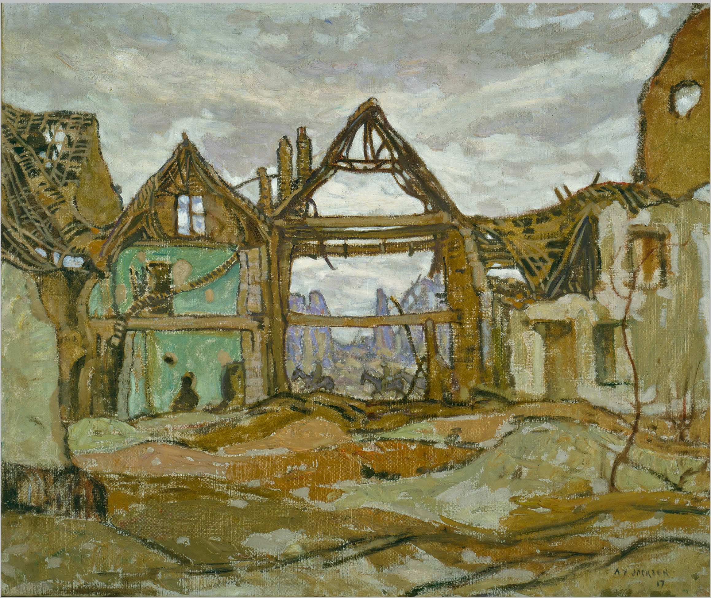 <i>Maison à Ypres</i>