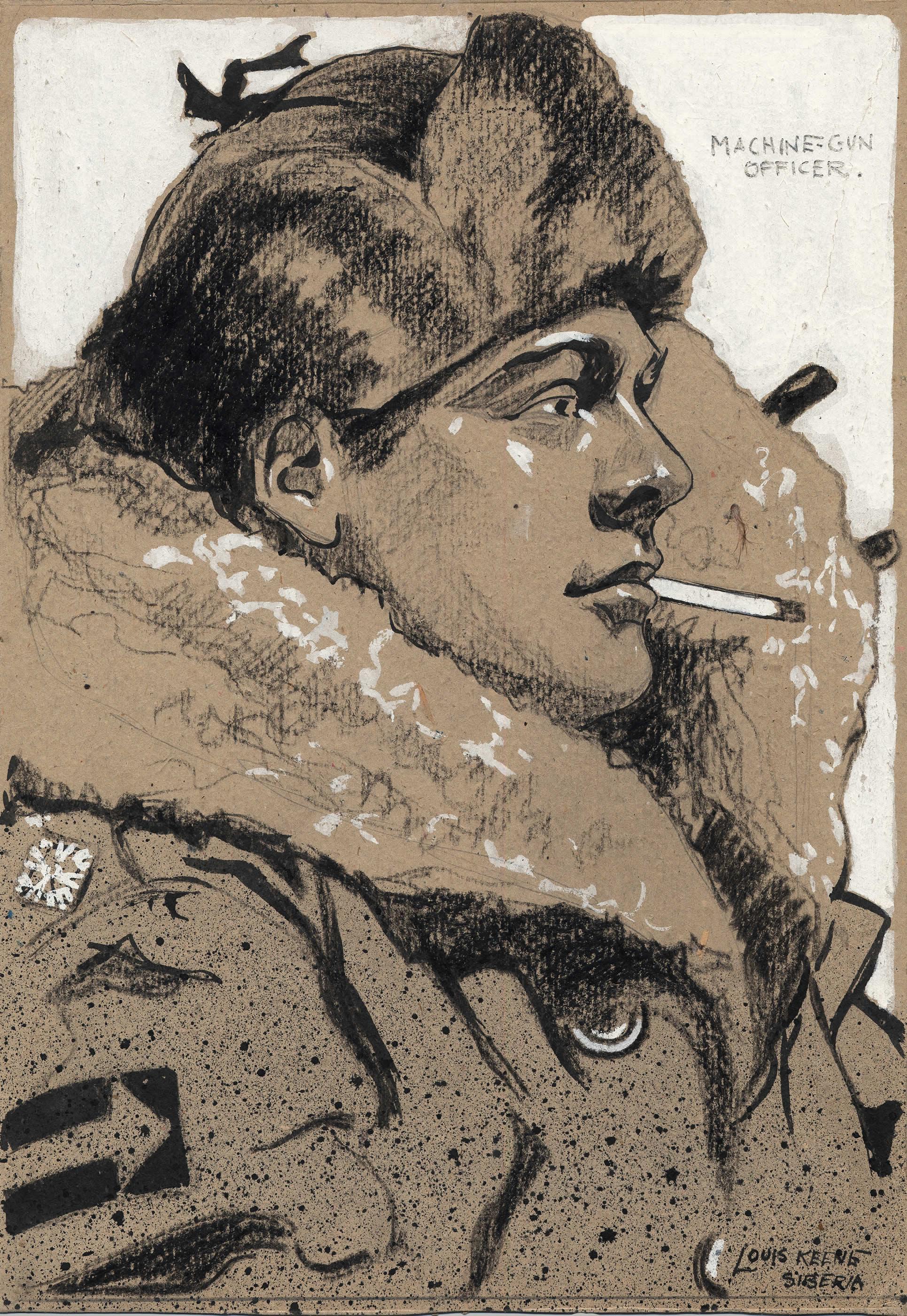 <i>Un officier mitrailleur, Sibérie</i>