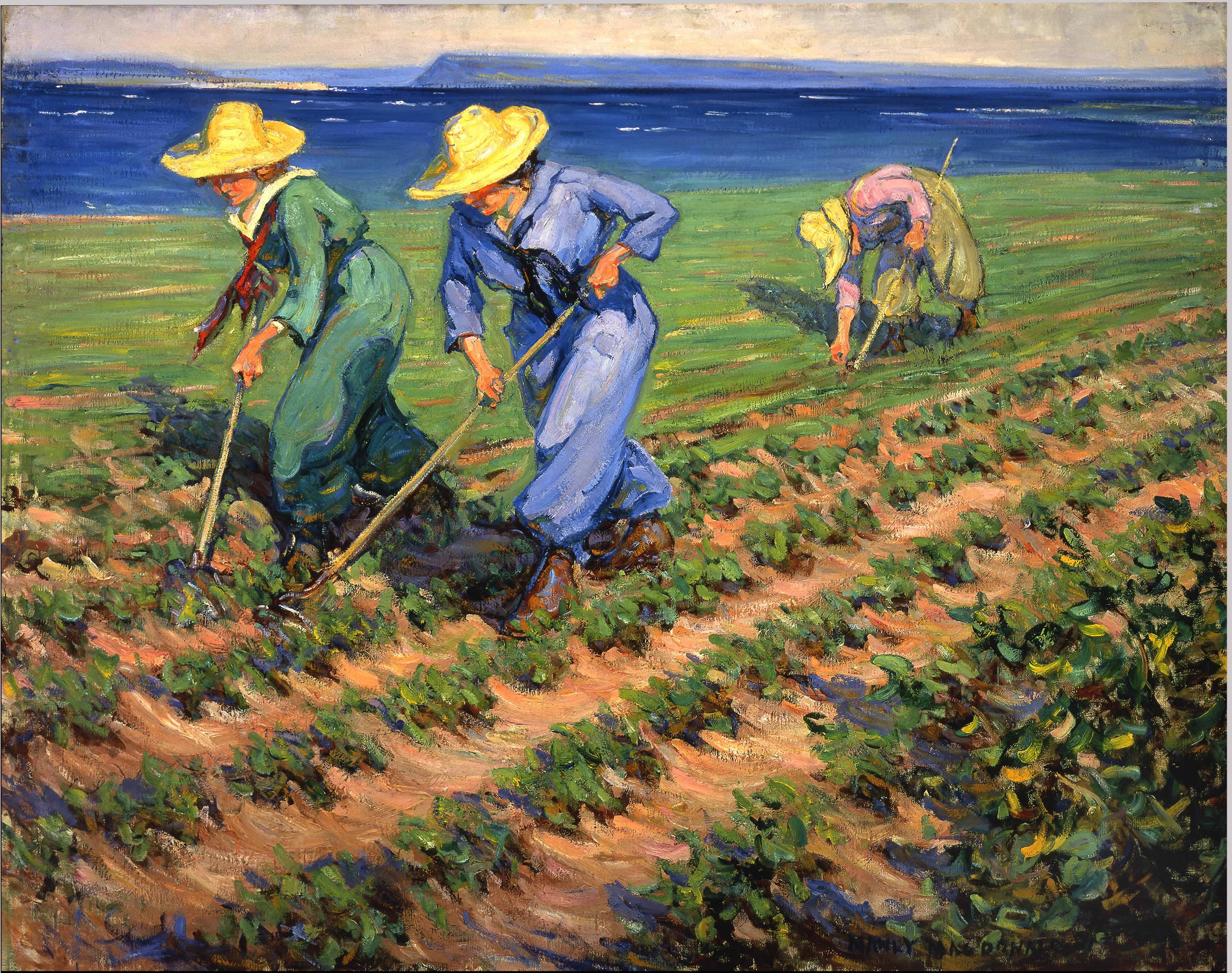 <i>Ouvrières agricoles binant</i>