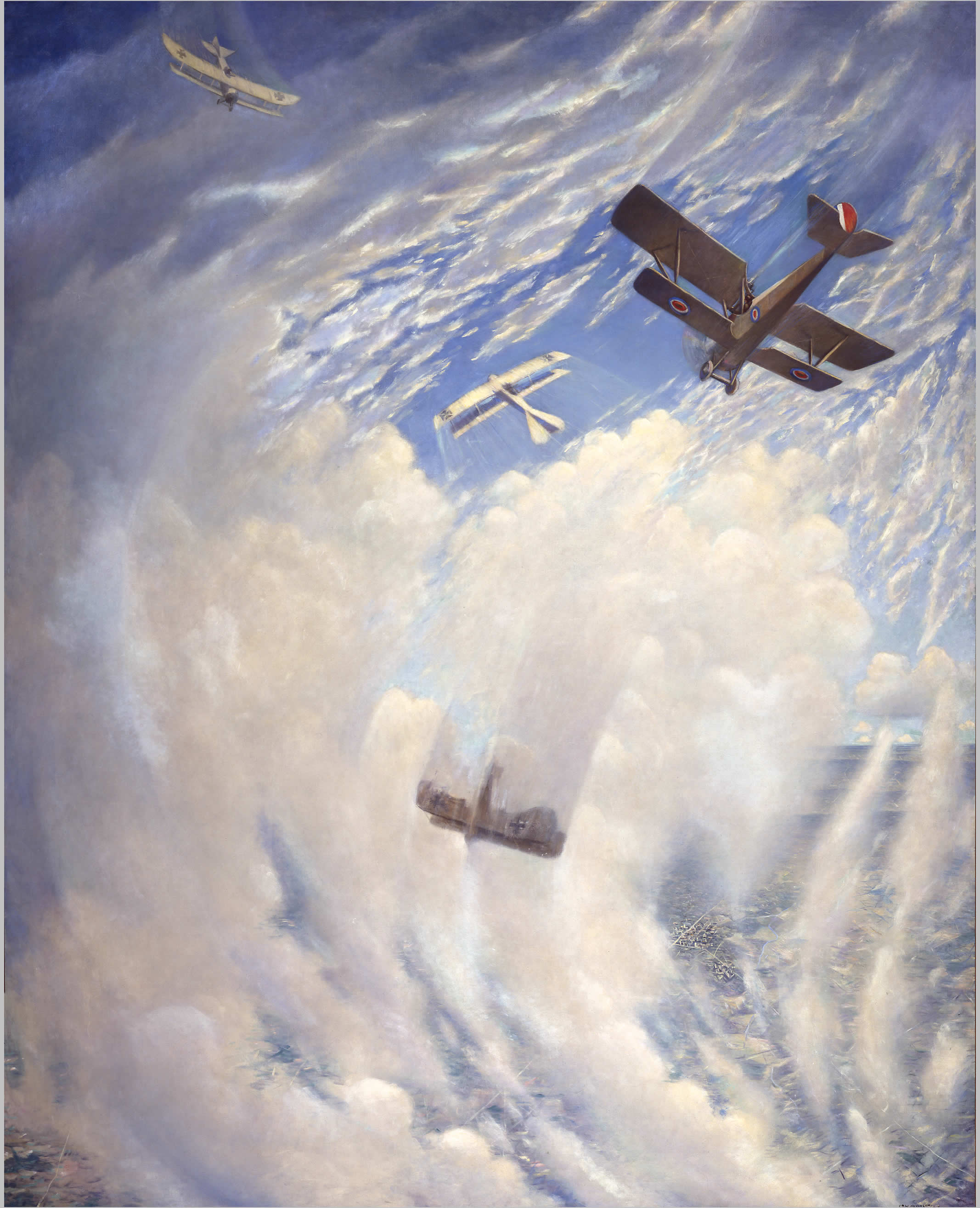 <i>La guerre dans les airs</i>