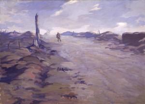 Le sommet de la crête de Vimy