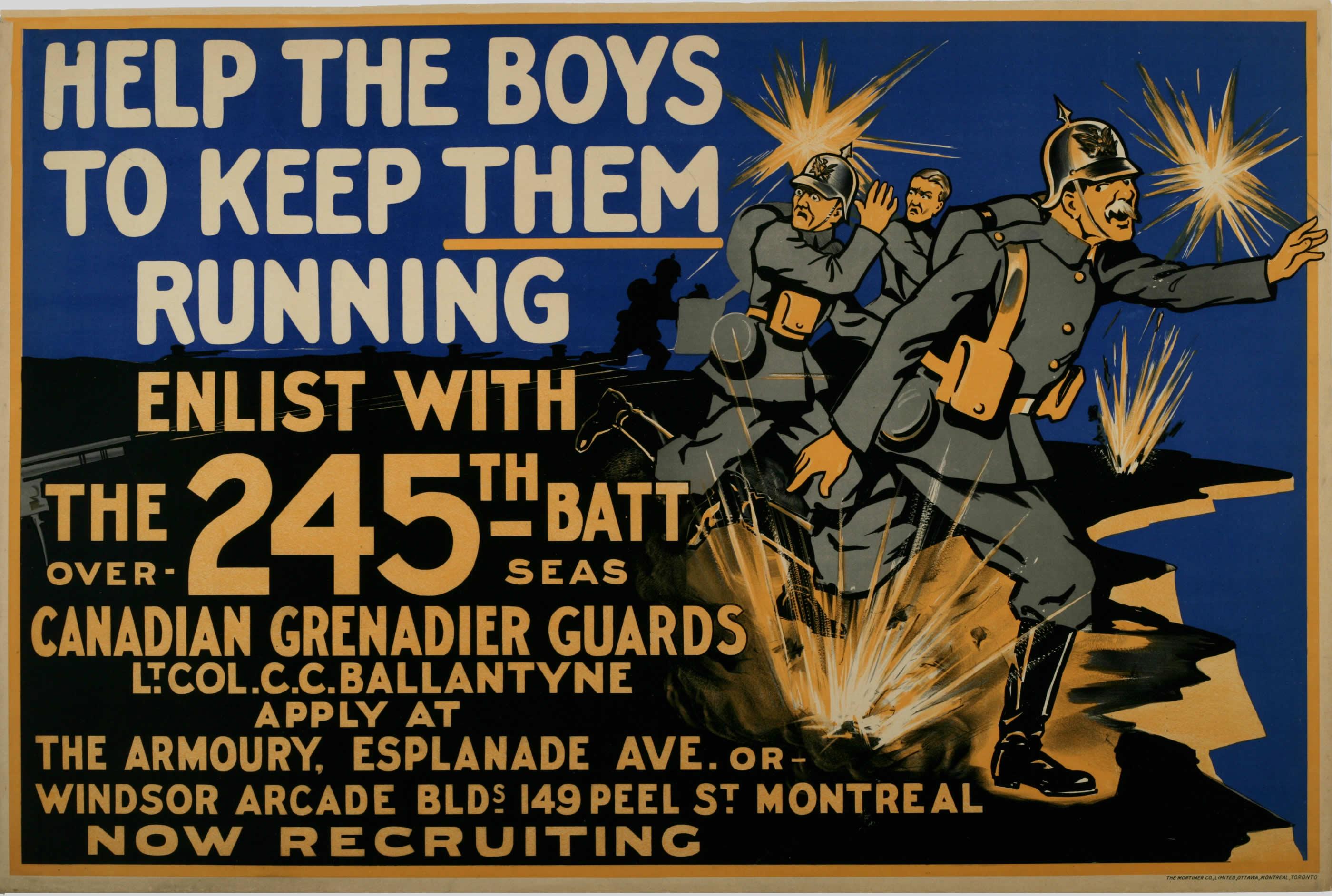 <i>Help the Boys (Aidez les gars)</i>