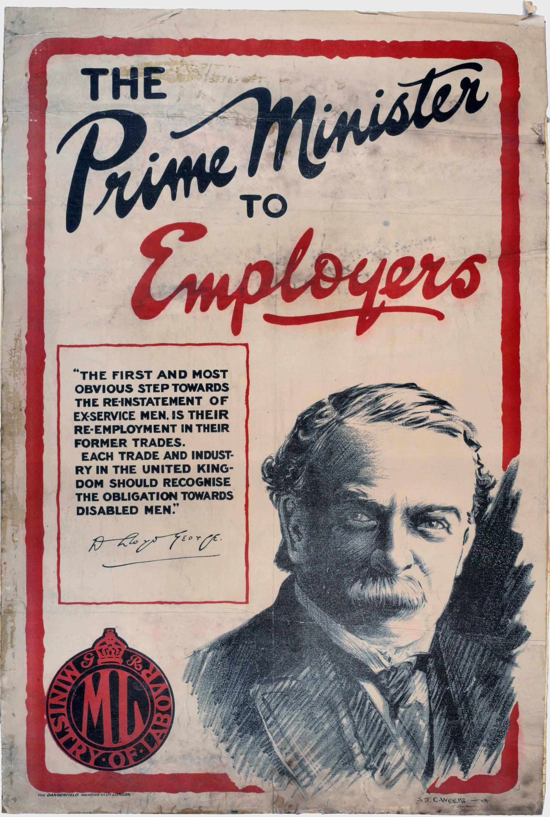 Le premier ministre aux employeurs