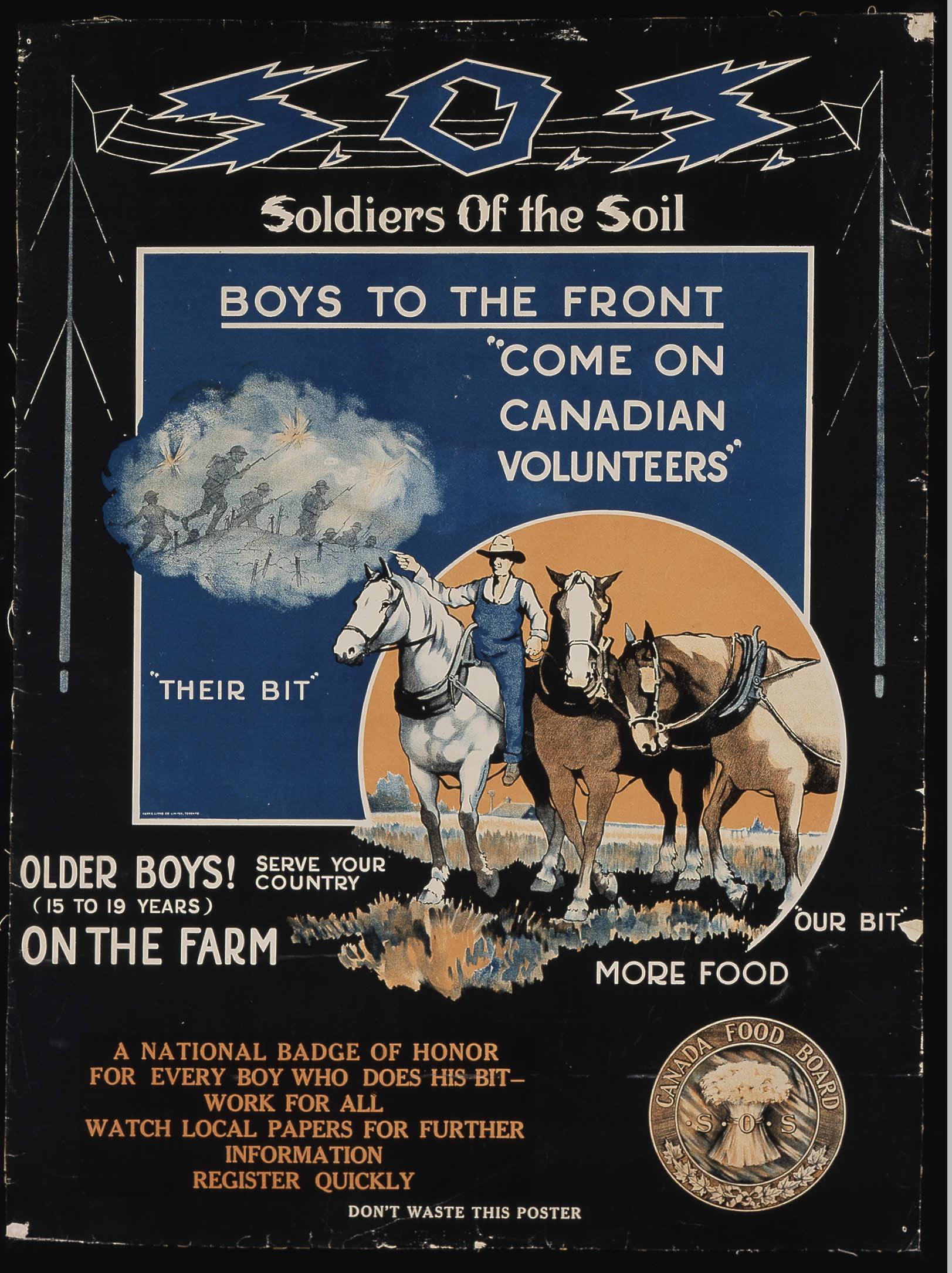 <i>Soldiers of the Soil (Soldats de la terre)</i>