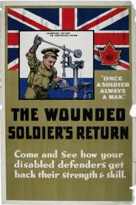 Le retour du soldat blessé