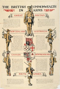 The British Commonwealth in Arms (Le Commonwealth britannique en guerre)