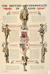 The British Commonwealth in Arms (Le Commonwealth britannique en guerre)