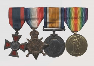 Ensemble de médailles d'infirmière militaire