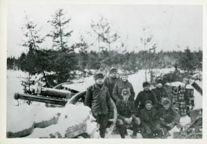Canon de 18 livres, Sibérie