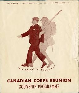 Réunion du Corps canadien