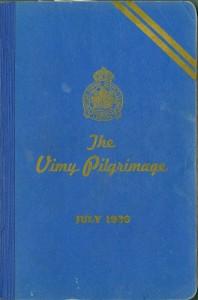 Guide pour un pèlerinage à Vimy