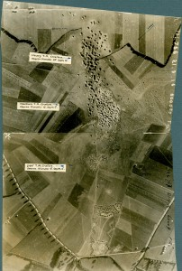 Cratères de mortiers de tranchée