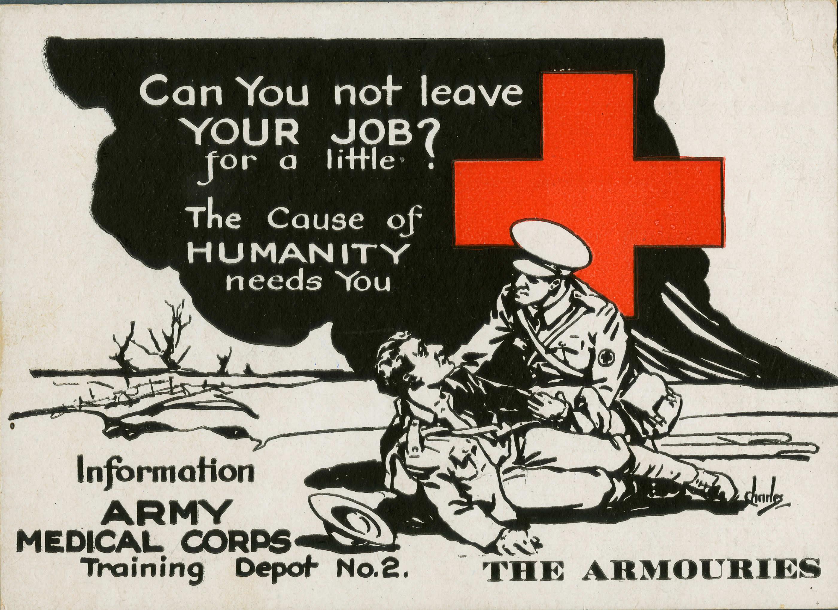 Recrutement pour le Corps médical