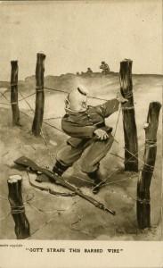 Gott Strafe This Barbed Wire (Gott Strafe ces barbelés)