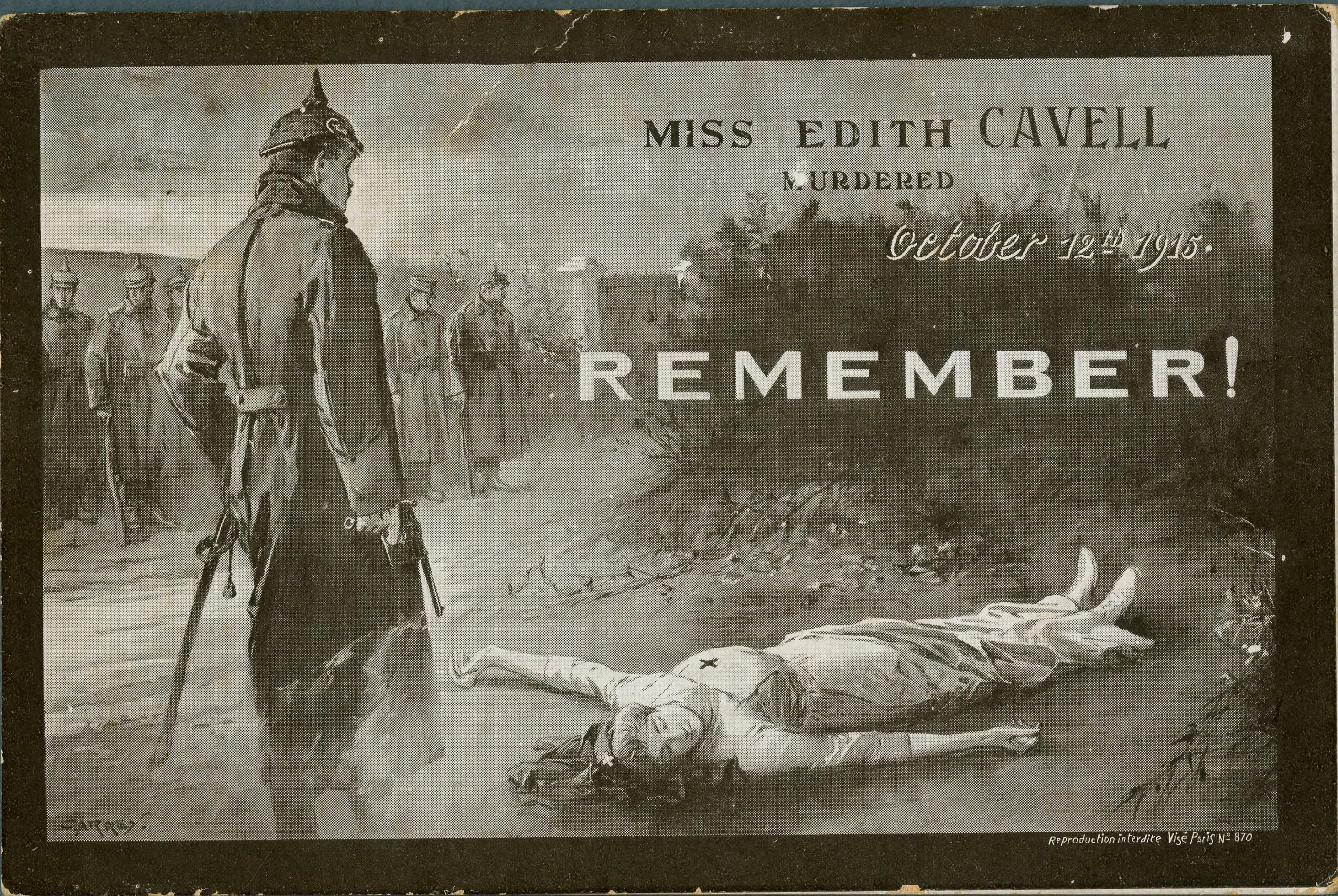 Souvenez-vous d'Edith Cavell