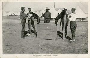 Les mascottes de Valcartier