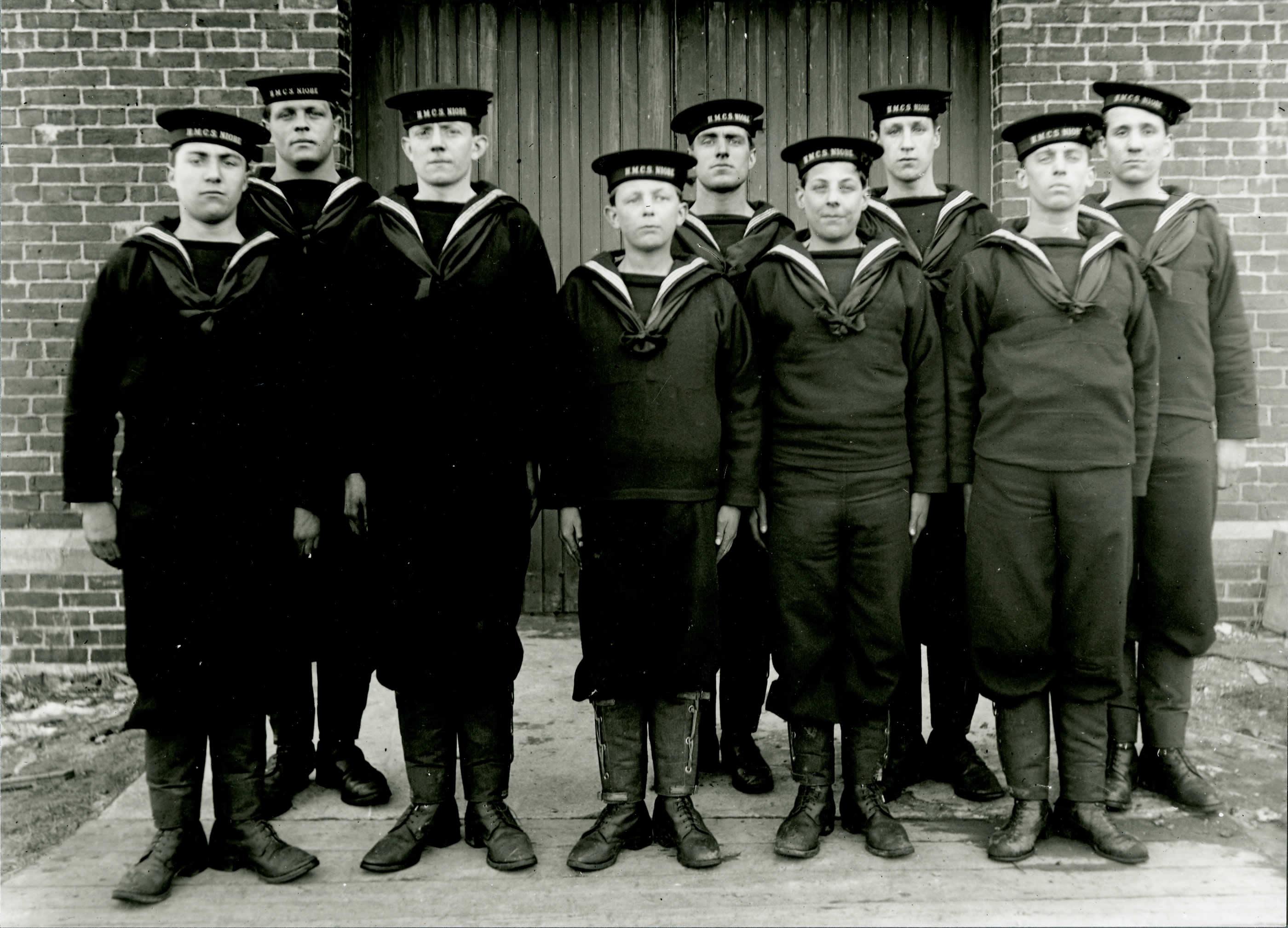 Leurs premiers moments comme marins
