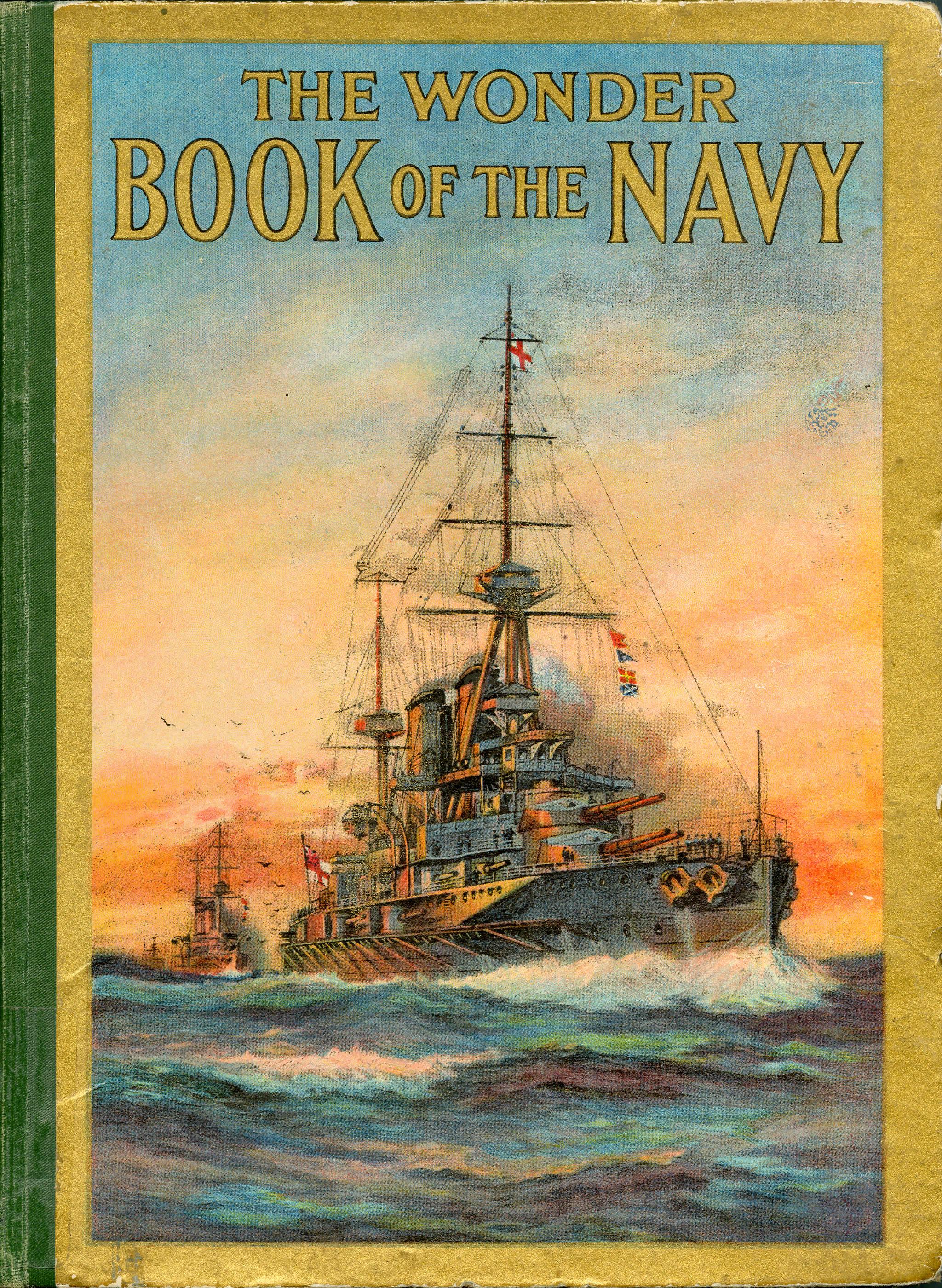 <i>The Wonder Book of the Navy (Le livre des merveilles de la marine)</i>