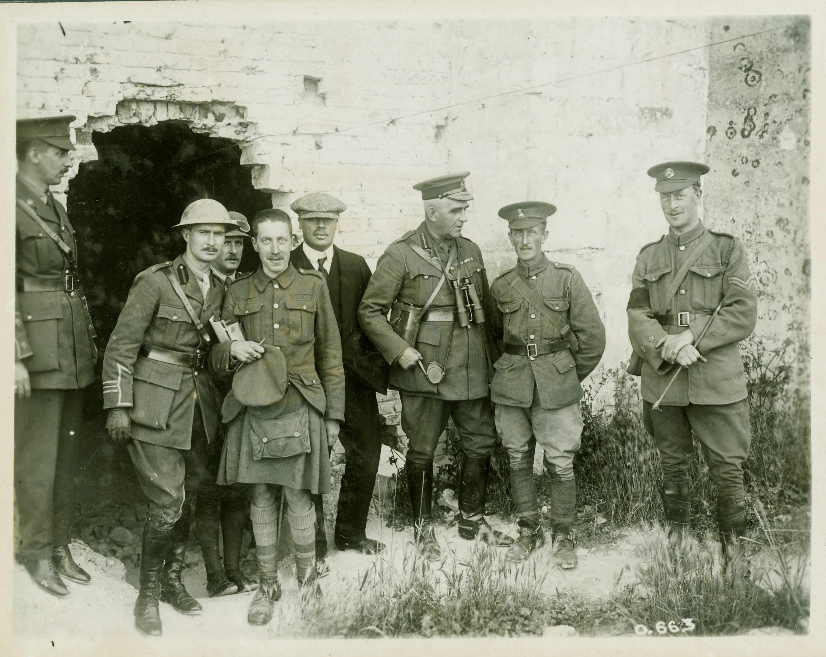 Sam Hughes sur la Somme