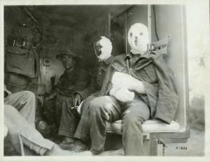 Les victimes du gaz moutarde