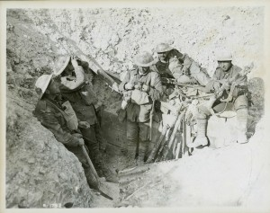 Tranchées prises à l'ennemi à la cote 70