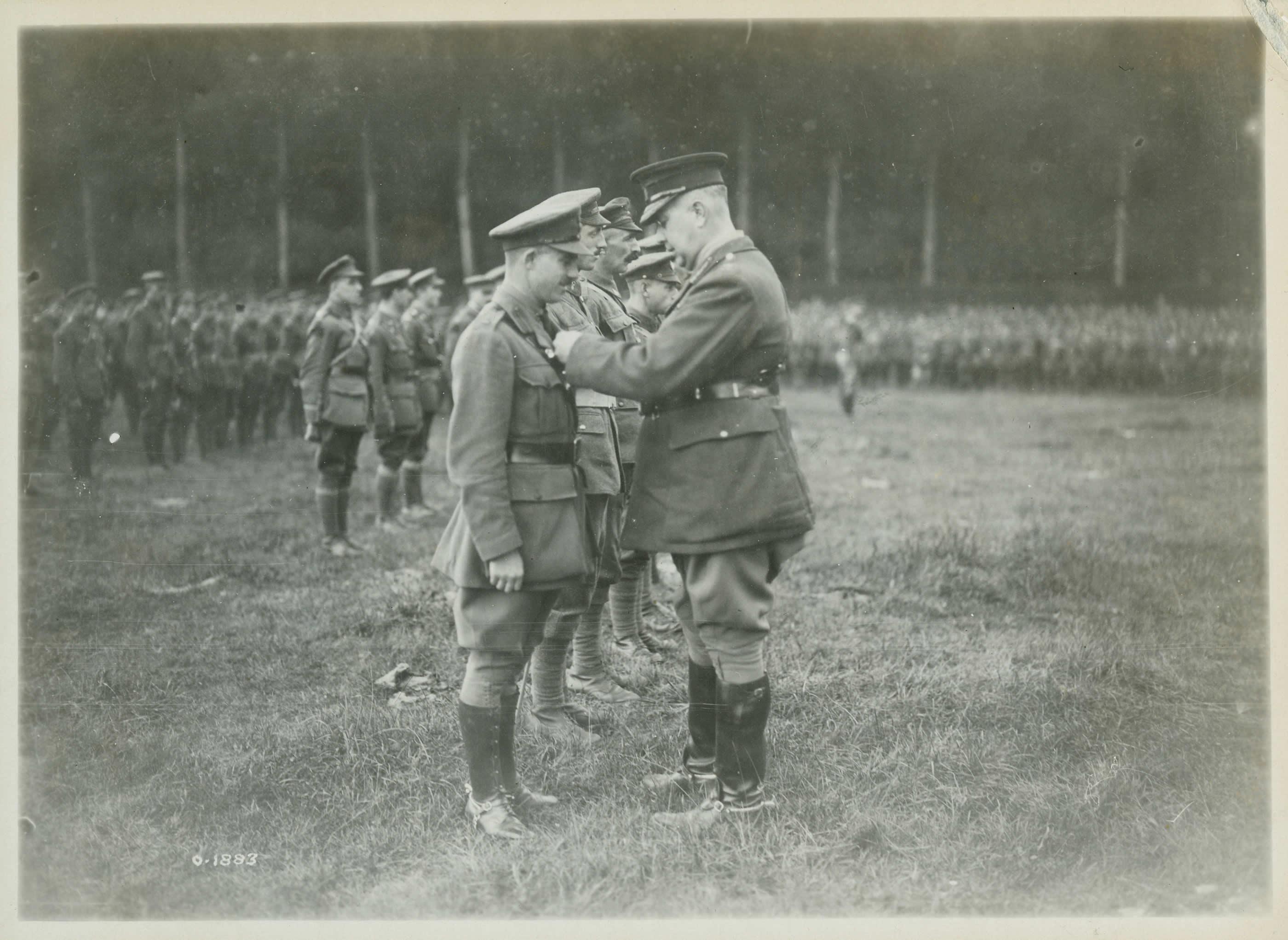 Soldats décorés