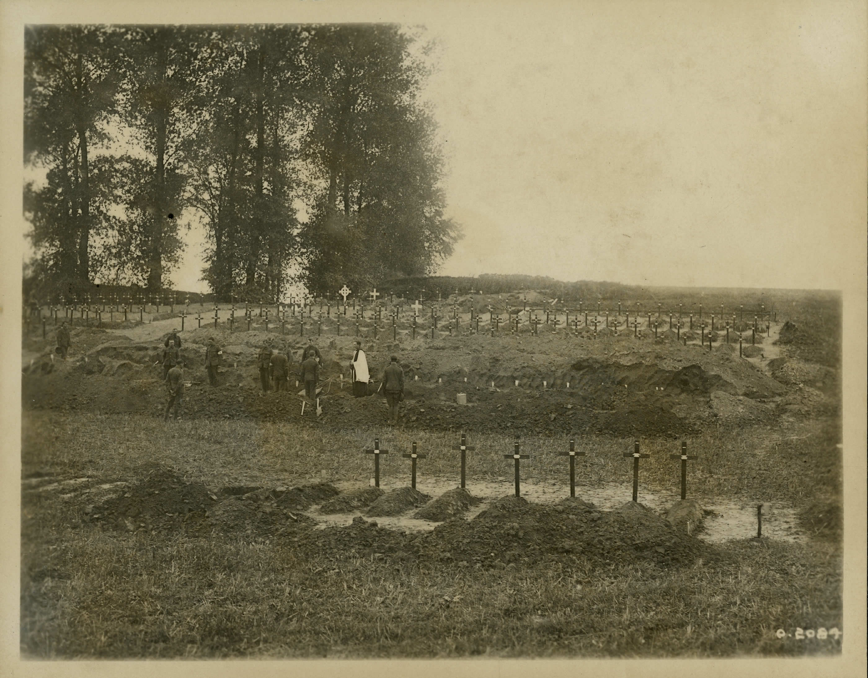 Cimetière dans la Somme