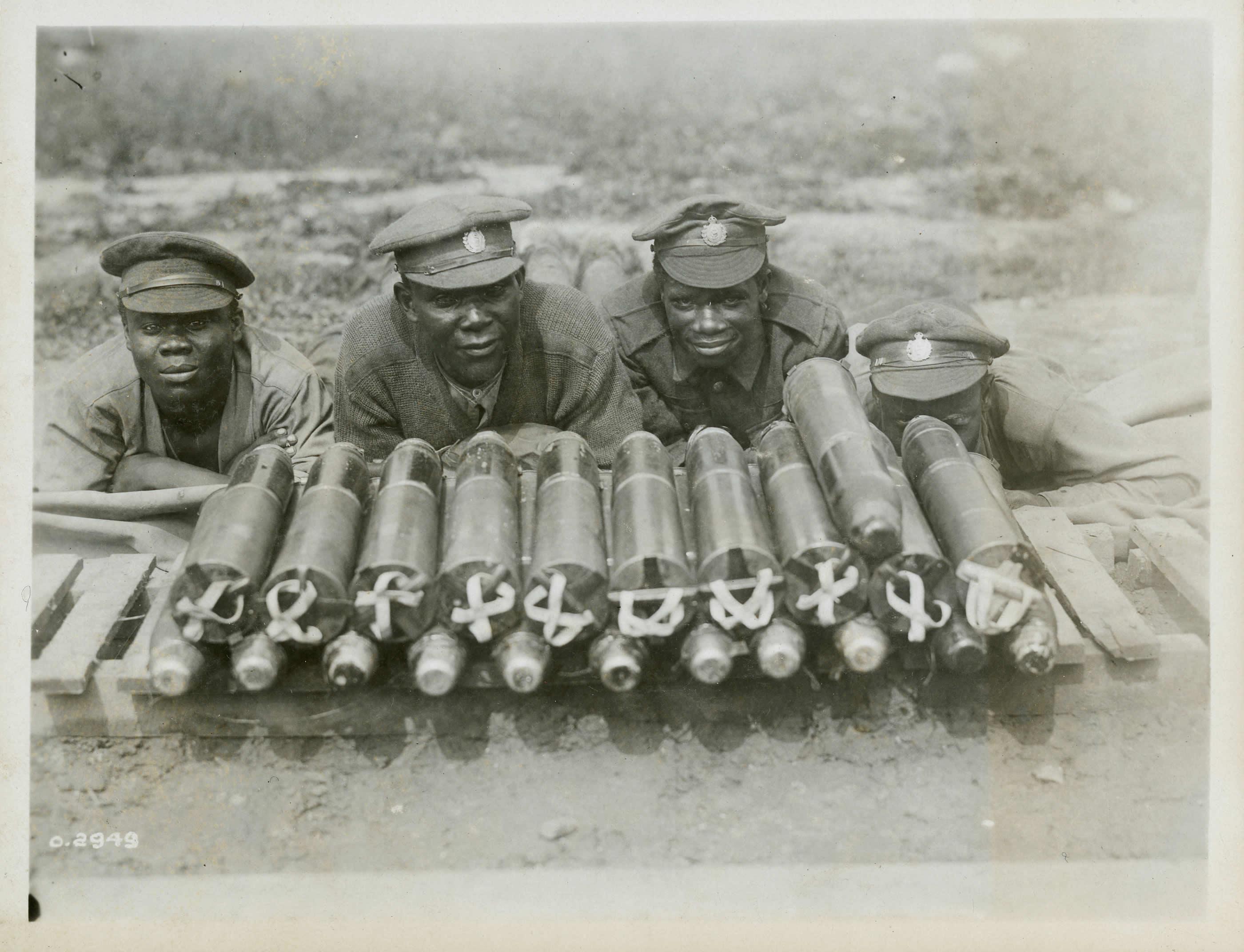 Chargement de munitions