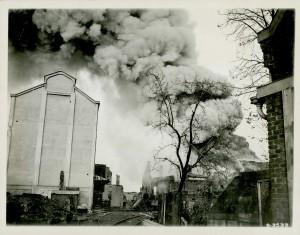Incendie à Valenciennes