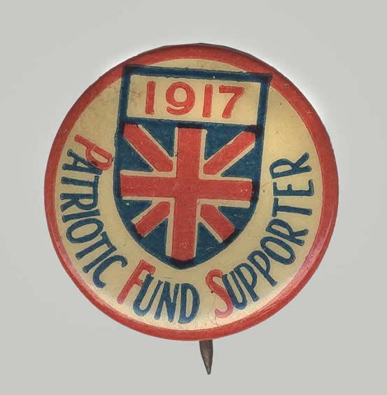 Donateur au Fonds patriotique 1917