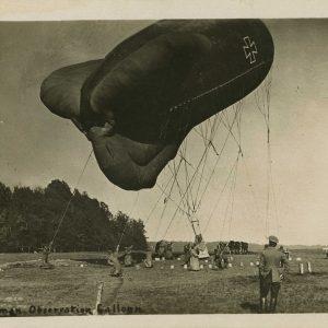 Ballon de conception française utilisé par les Allemands